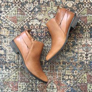 Corso Como Leather Booties Sz 7.5